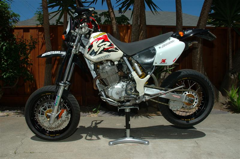 honda xr 400 r motard offmoto com. Black Bedroom Furniture Sets. Home Design Ideas